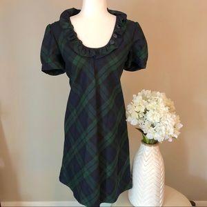 🌷 J. Crew plaid dress